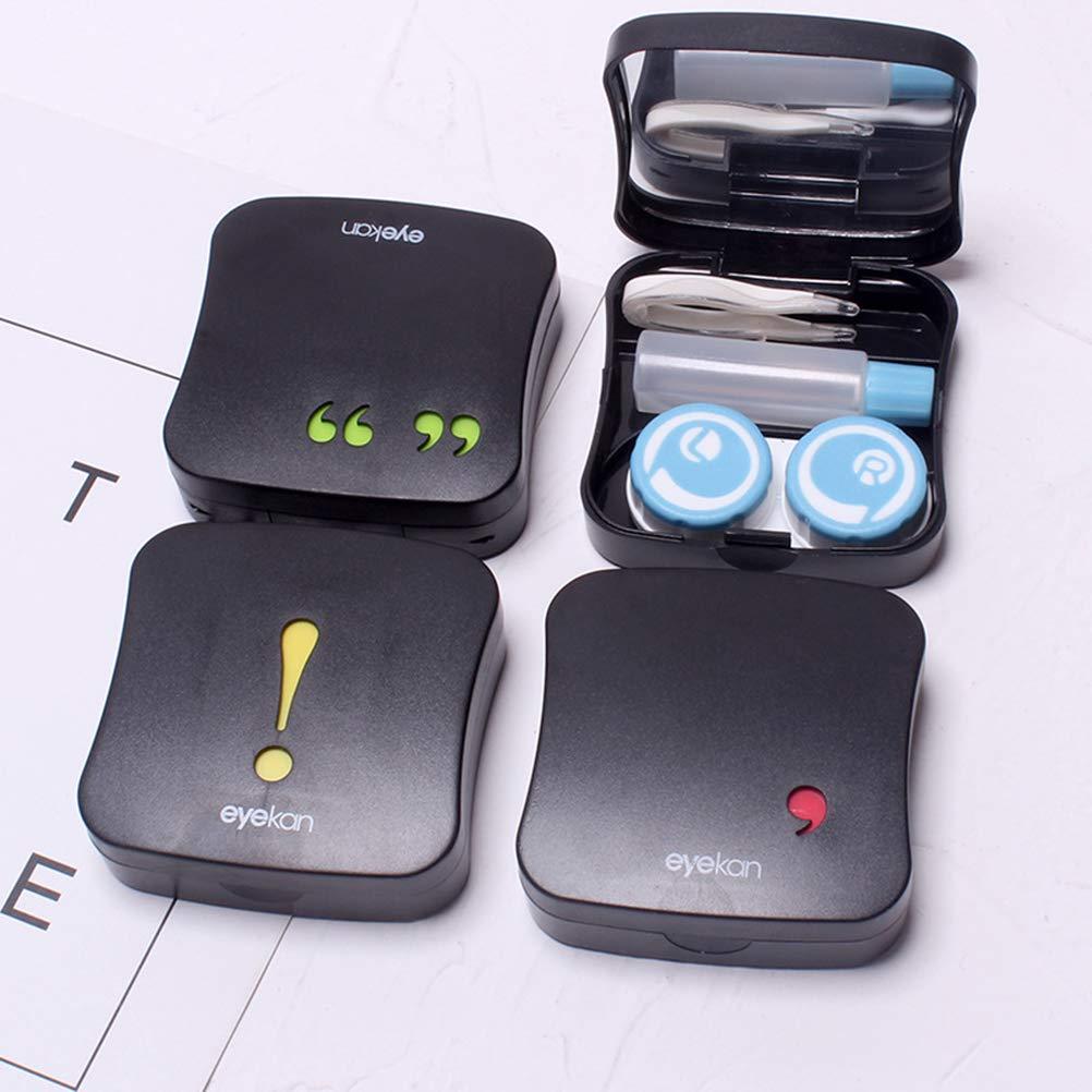 Amazon.com: SUPVOX Contact Lens Travel Kit Case Box ...