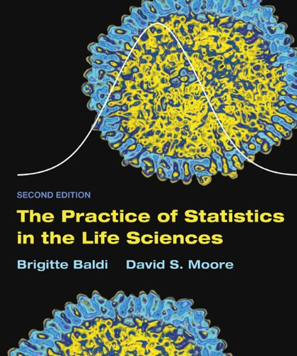 The Practice of Statistics in the Life Sciences: w/Student CD (Baldo Garden)