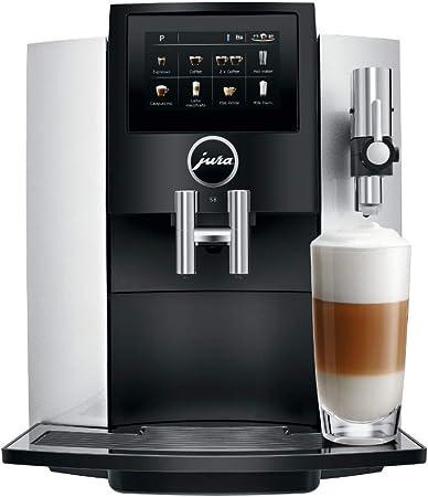 Amazon.com: Jura S8 - Cafetera espresso automática con ...