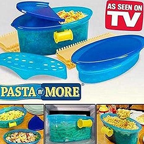 Pasta N More Juego de cocinar pasta al microondas con Bono ...
