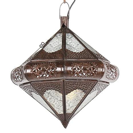 Lámpara oriental Lámpara Trin blanco 35 cm marokkanische ...