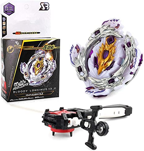 Lavendei 4D Fusion Modell Metall Masters Speed Kreisel Kampfkreisel mit Launcher Kinder B 117 Jugendliche und Erwachsene