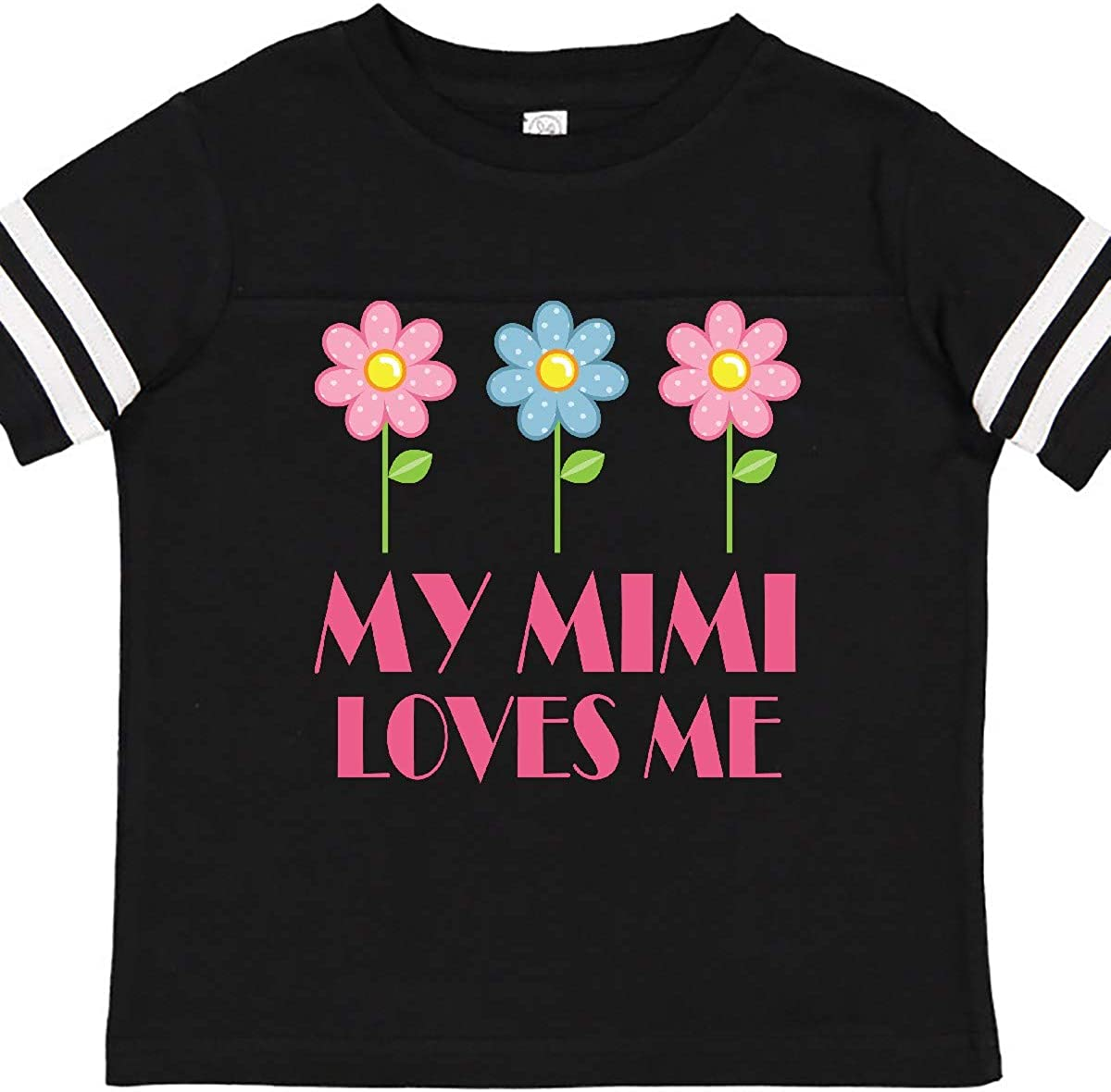 inktastic Mimi Loves Me Daisies Toddler T-Shirt
