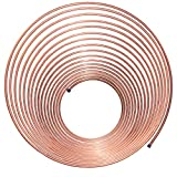 Nickel/Copper Brake Line Tubing Coil, 1/4'' x 50'