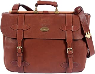 product image for Col. Littleton Full-Grain Leather No.83 Book Bag Briefcase | Made in USA