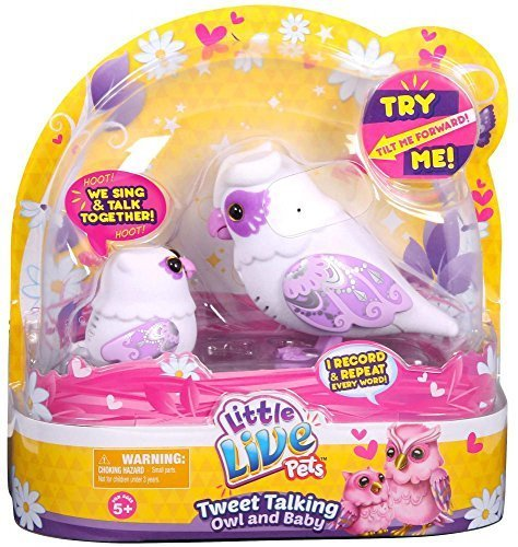 Little Live Pets S2 Tweet Talking Owl And Baby - Graceling Family by Little Live Pets (Image #2)