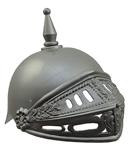 92e04a061afec Amazon.com   Adults Plastic Knight Medieval Crusader Costume Helmet    Everything Else