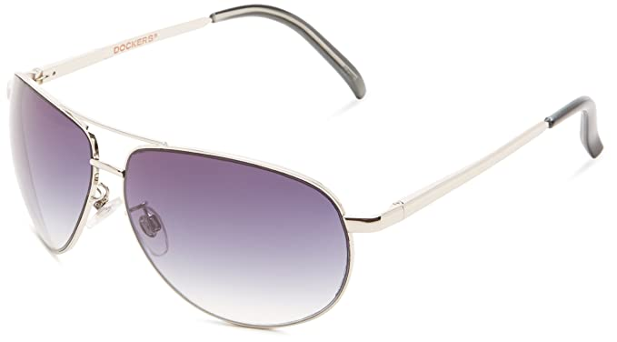 5e805d6bc Amazon.com: Dockers Men's S02719ldm040 Aviator, Silver, 50 mm: Clothing