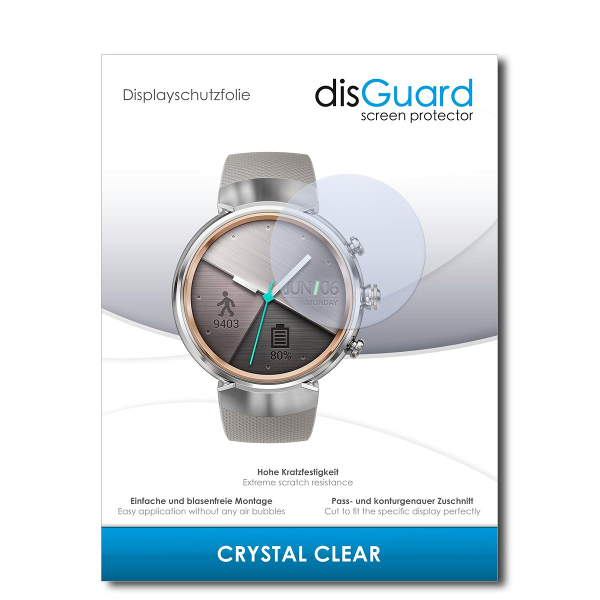 disGuard® Protector de Pantalla [Crystal Clear] compatibile ...