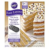 Wilton Easy Layers! Round Layer Cake Pans Set,  4-Piece