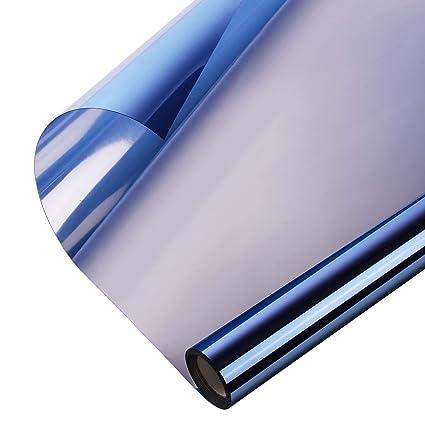 cde5e939eb5 Window Heat Control Film Kit Anti-UV One Way Mirror Film Privacy Static  Glass Films