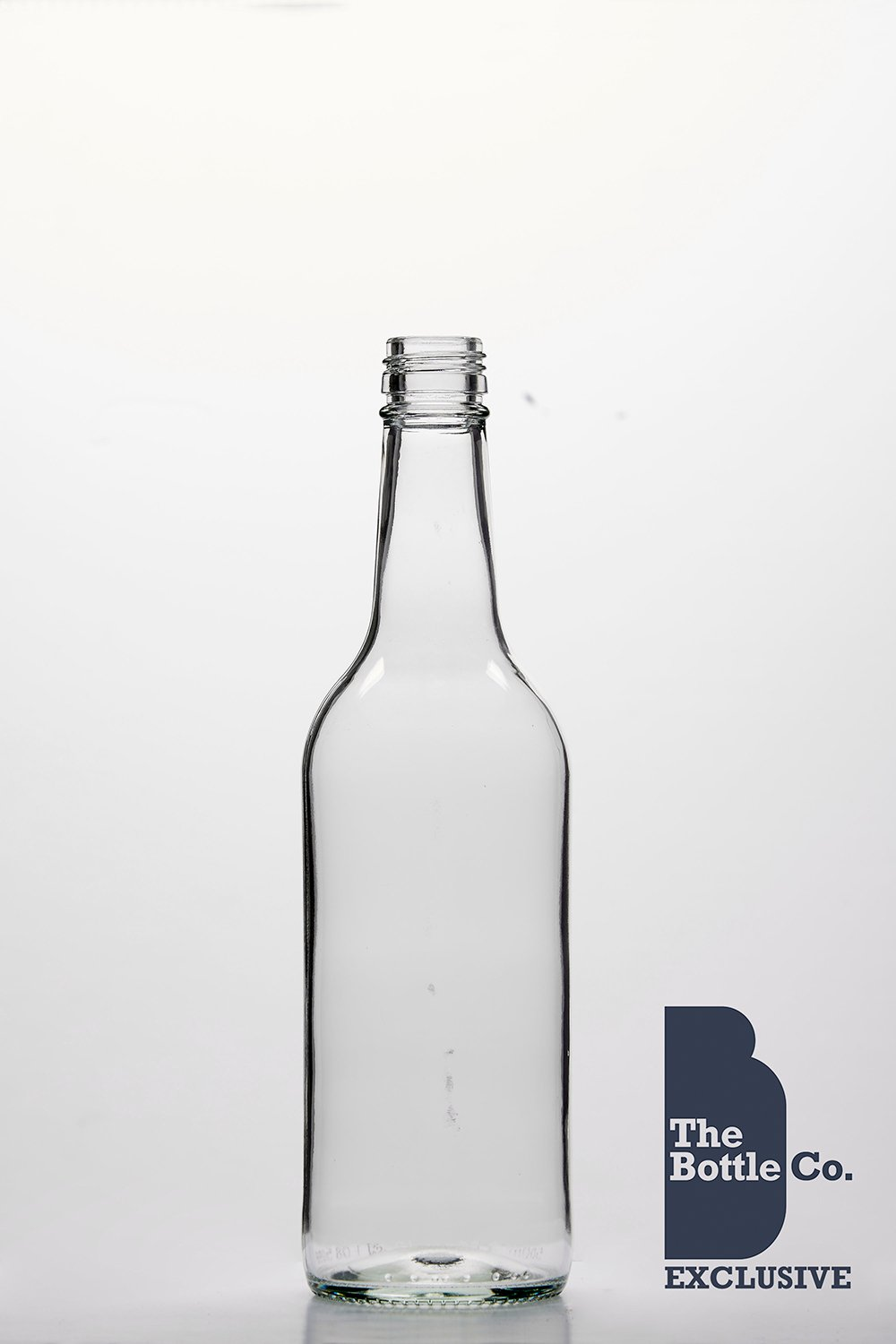 BOTTLE COMPANY 28 X 500ML APPROX ROUND (MINERAL) GLASS JUICE,WATER,CIDER,LIQUOUR,WINE,BEER BOTTLE C/W GOLD T/E CAP 500MIN28