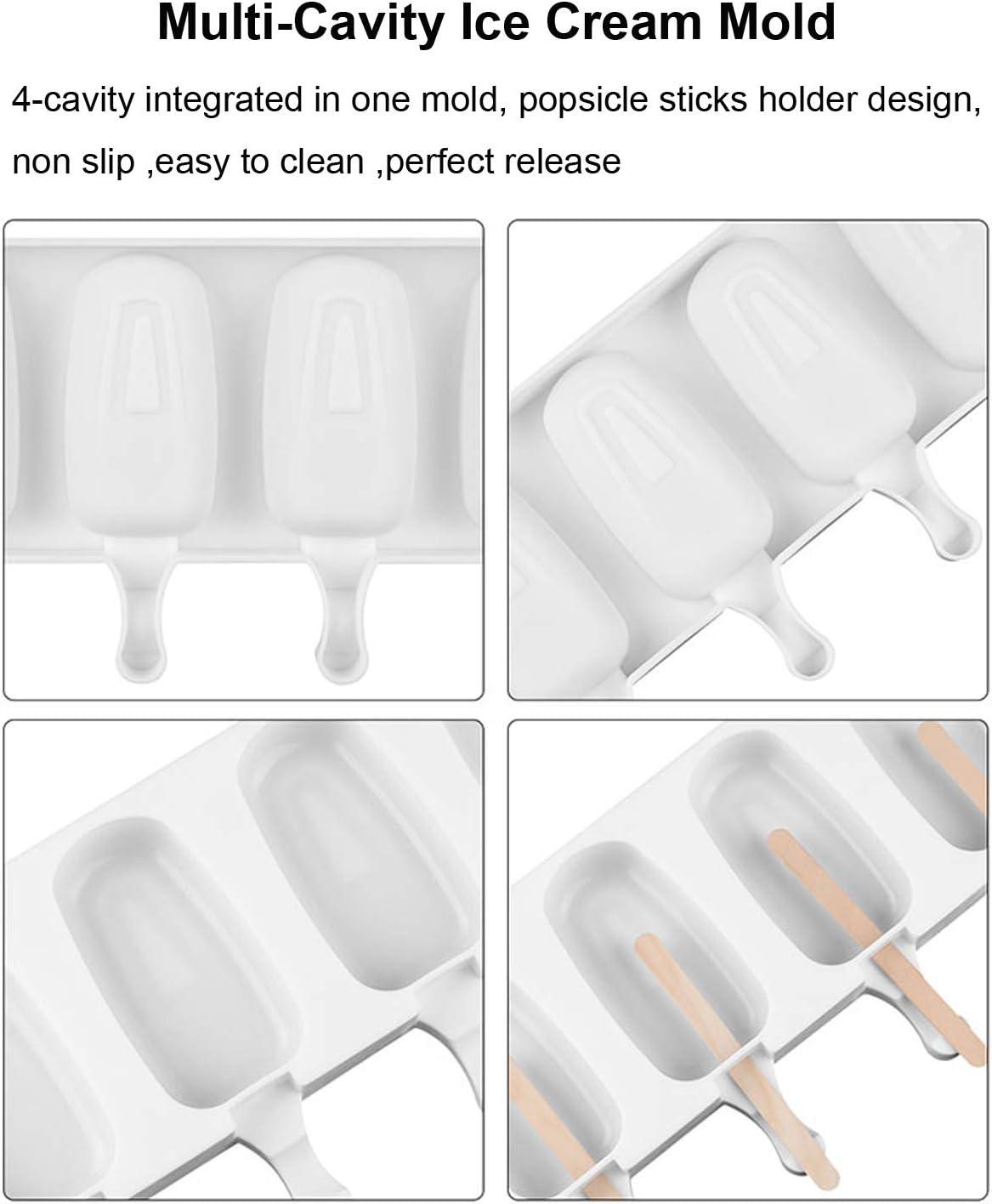 Amazon.com: Molde de silicona para helado: Kitchen & Dining