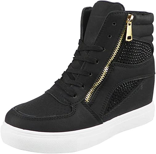 New Womens Ladies Lace Up Sneakers