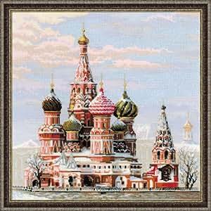Riolis - Kit de punto de cruz, diseño de la Catedral de San Basilio de Moscú