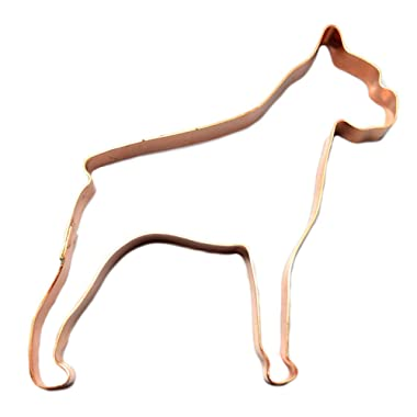 Boxer Dog Cookie Cutter