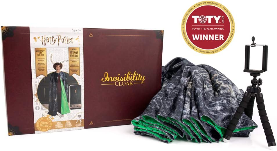 Wow! Stuff Collection WW-1086 Deluxe Harry Potter Invisibilidad Cloak, Multi