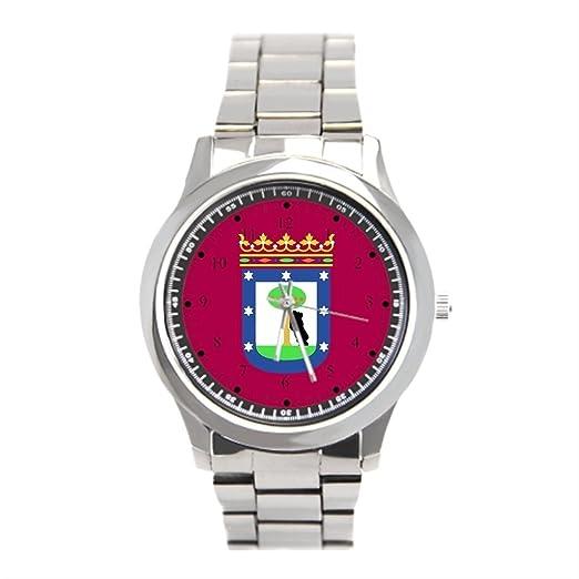 cnbluer relojes de bandera de Madrid España (ciudad)