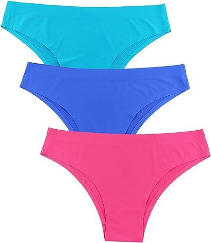 Twippo Bragas Bikini Mujer 3 Pack Negro: Amazon.es: Ropa y accesorios