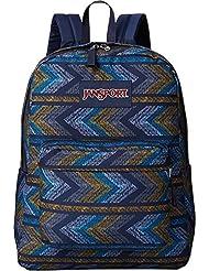 JanSport Unisex Superbreak? Navy Moonshine Chevrons Backpack