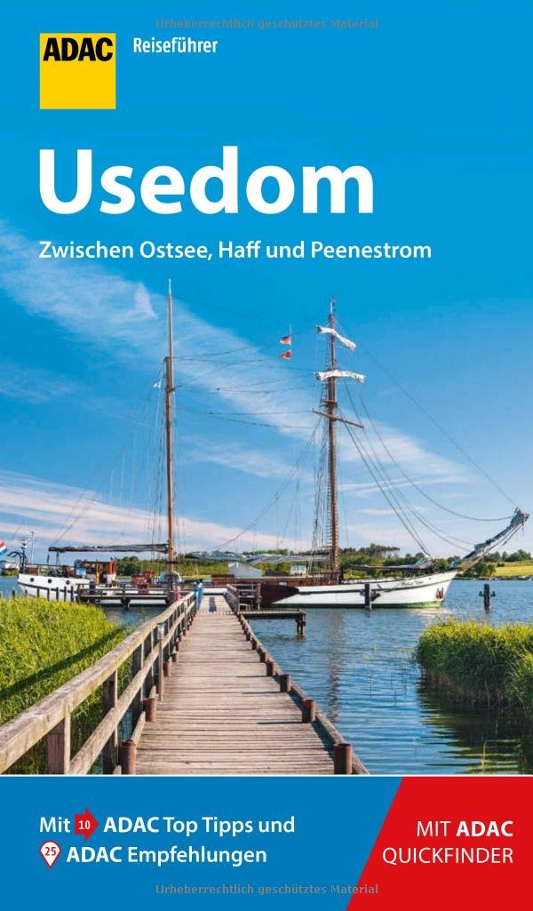 ADAC Reiseführer Usedom: Der Kompakte mit den ADAC Top Tipps und cleveren Klappkarten