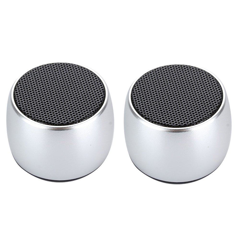 Mini Dual Double Bluetooth Speaker Powerful Portable Room-filling Sound 3W Audio Driver-Remote Selfie TRUE WIRELESS STEREO TECHNOLOGY For iPhone, iPad, iPod, Smartphone, Tablet PC Bluetooth devices