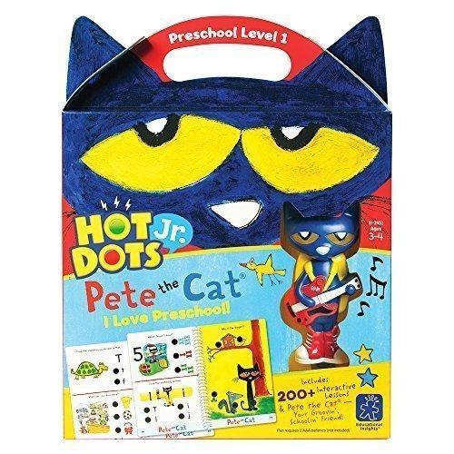 (Educational Insights Hot Dots Jr. Pete The Cat I Love Preschool!)