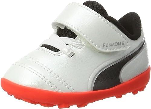 tenedor Duque Abrasivo  Puma 104253 Zapatos de futbol rápido para Bebé Niños, White/Black/Fiery  Coral, 14: Amazon.com.mx: Ropa, Zapatos y Accesorios
