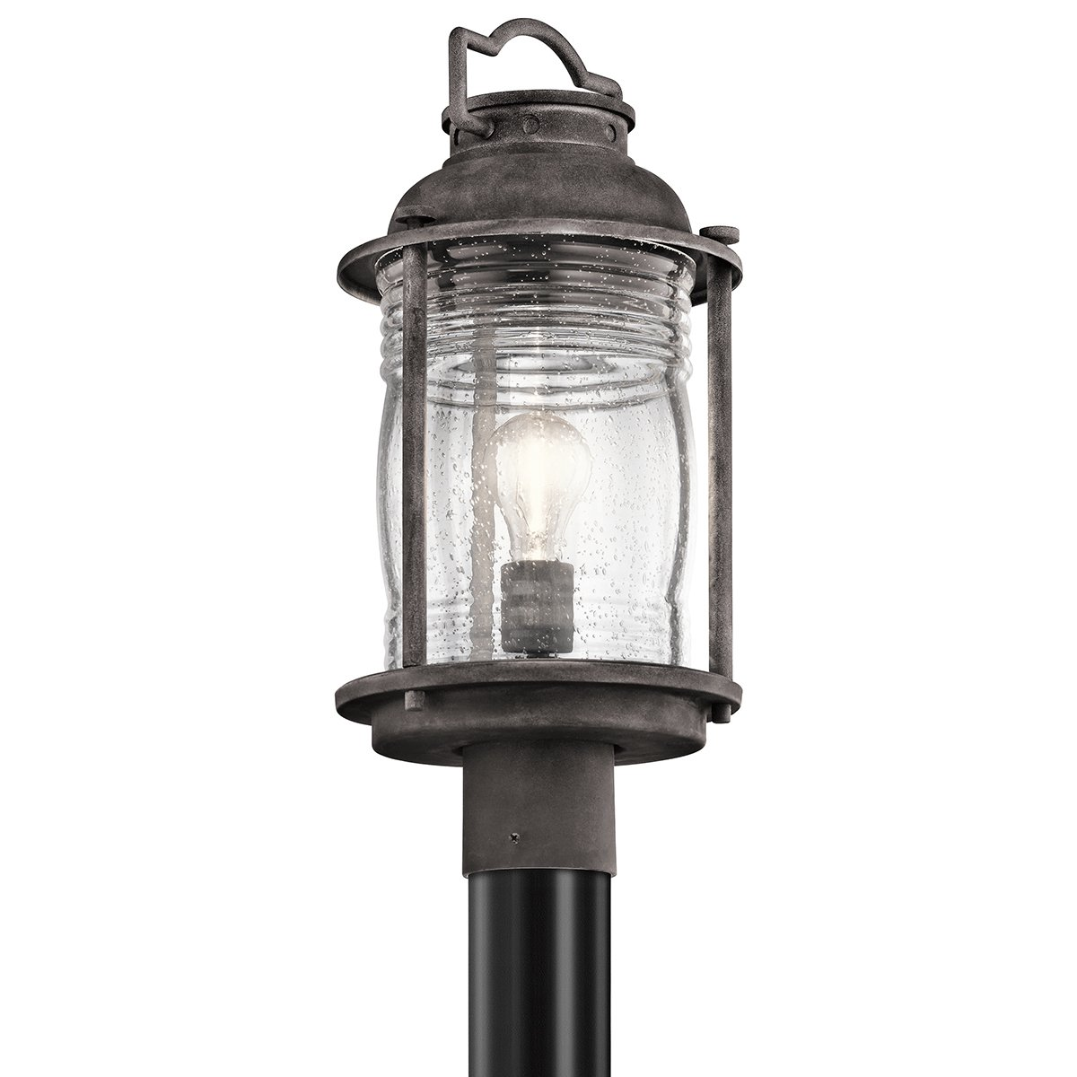 Kichler 49573WZC One Light Outdoor Post Mount