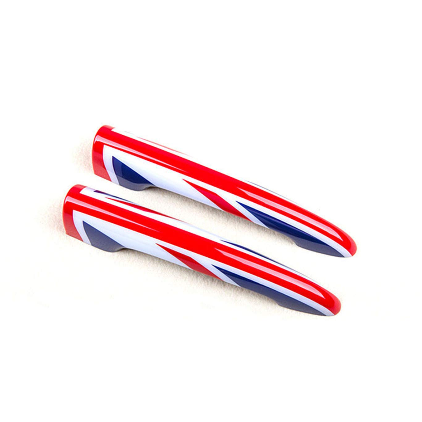 Blue//Red Union Jack UK Flag ABS Sticker Cover Trim Cap for Mini Cooper ONE S JCW R55 Clubman 2010-2016 Rear View Mirror Cover with Senor Hole