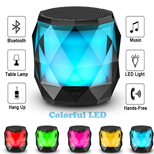 LED Bluetooth Speaker, LFS  Night Light Wireless Speaker review