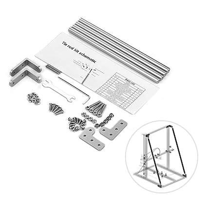 Aibecy Kit de varilla de tracción de soporte de perfil de aluminio ...