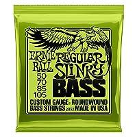 Ernie Ball - Juego de bajos con herida regular de níquel Slinky, .050 - .105