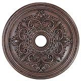 Livex Lighting 8210-58 Ceiling Medallion, Imperial Bronze