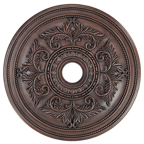 Livex Lighting 8210-58 Ceiling Medallion, Imperial Bronze