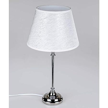 Unbekannt Lámpara de mesa elegante diseño Lámpara Pie metal ...