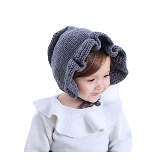 258feb12251 Eohak Baby Knit Bonnet Hat - Fashion Cute Toddler Kids Infant Girls Boys  Beanie Hat Knitted