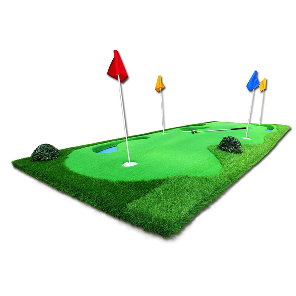 Golf Mats Simulated Lake Golf Practice Blanket Putter Practice 150 375cm