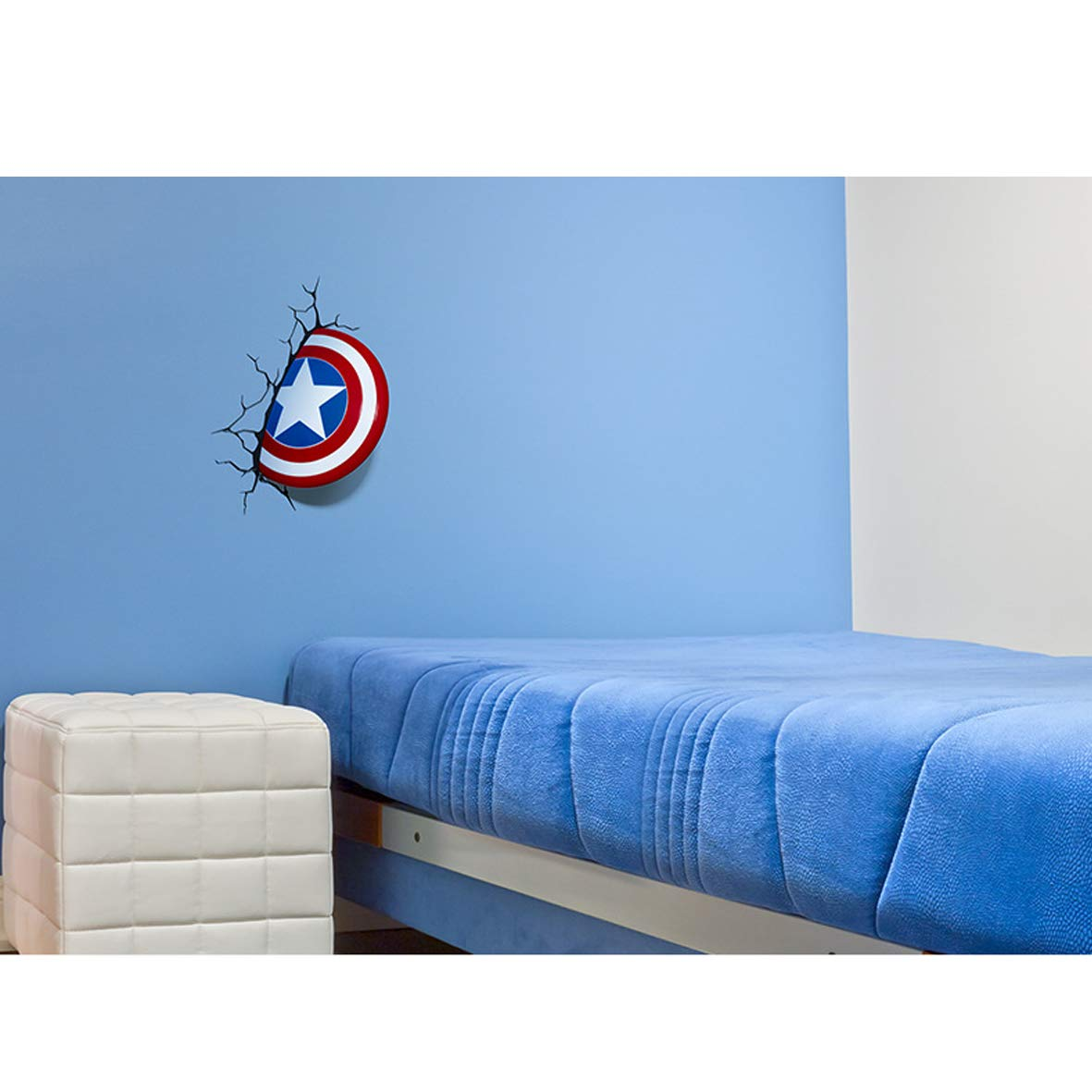 Amazon.com: Miracle Avengers Lámpara de pared Iron Man Hulk ...