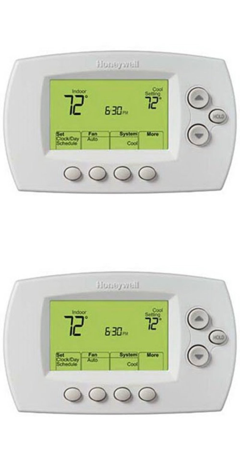 Honeywell Wi-Fi 7-Day Programmable Thermostat (RTH6580WF)(Pack of 2)