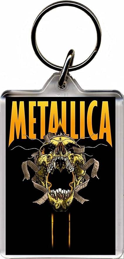 Metallica Llavero A: Amazon.es: Equipaje