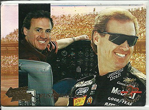 1995 Action Packed Country 2nd Career Choice #3 Rusty (Rusty Wallace Card)