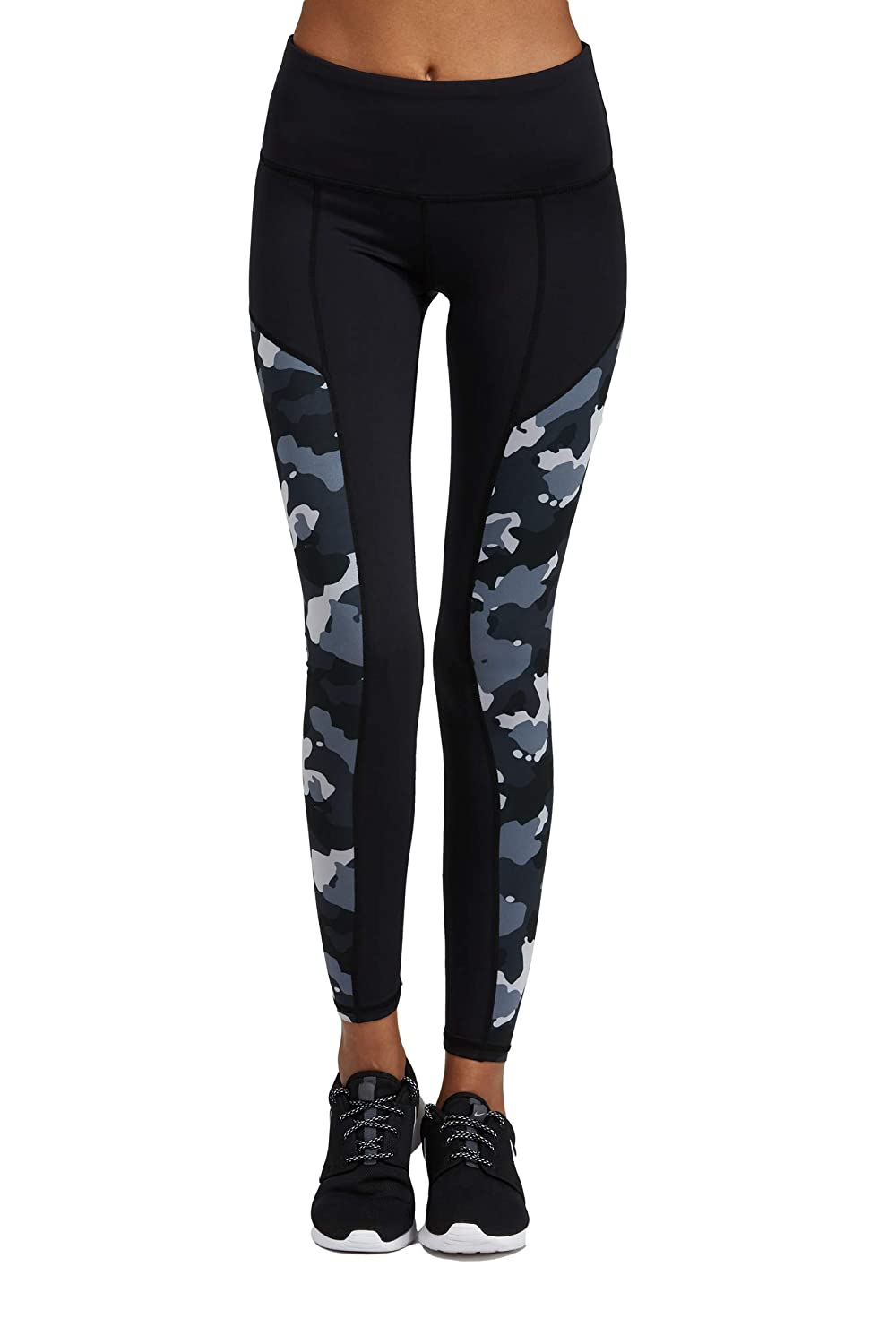 Mvp Camo Medium Noli Yoga Women Activewear Performance Legging