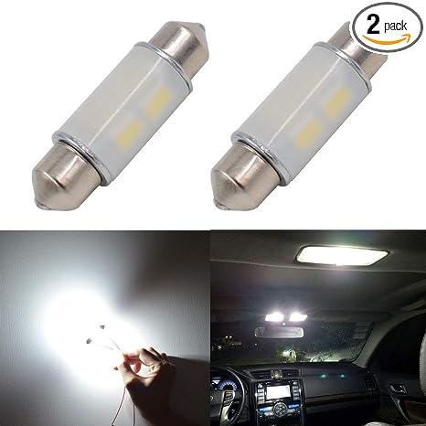 Amazon.com: Calais - Bombillas LED para interior de coche ...