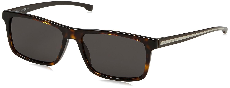 Hugo Boss Boss 0920/S NR P0I Gafas de sol, Marrón (Dkhavn Crystal/Brw Grey), 54 Unisex-Adulto