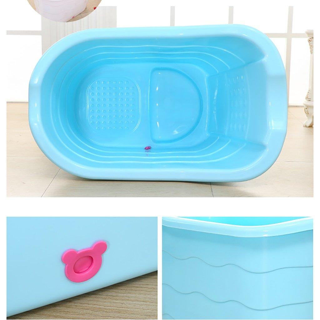 Amazon.com: WENJUN Plastic Bath Tub Thicken Plastic Home Bath Tub ...