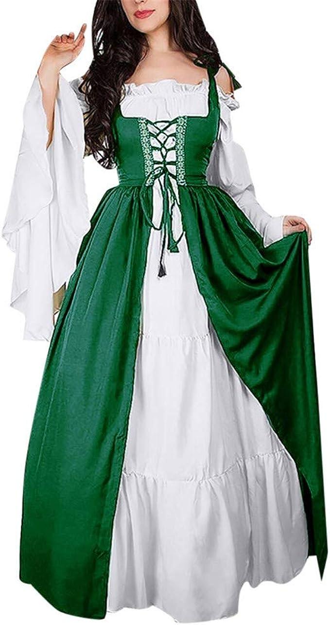 Amazon.com: Forthery - Vestido de Renacimiento para mujer ...