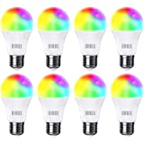 OHLUX Smart WiFi LED Light Bulbs 100W Equivalent 900Lumen Compatible with Alexa and Google Home (No Hub Required), RGBCW…