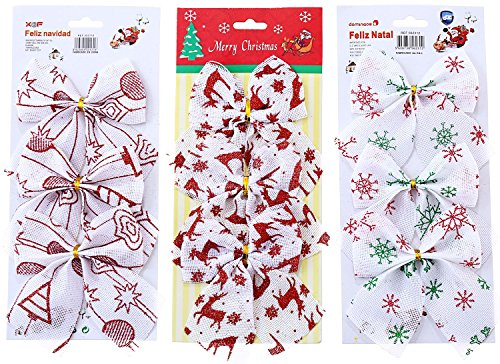9 Pcs Christmas Tree Hanging Ornament Xmas Christmas Decorations - 8