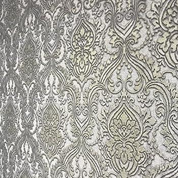 Quadruple rolls 113 52sq ft slavyanski wallcoverings vintage style victorian pattern vinyl non woven